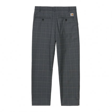 Carhartt WIP Menson Pant Stowe Check, Wave