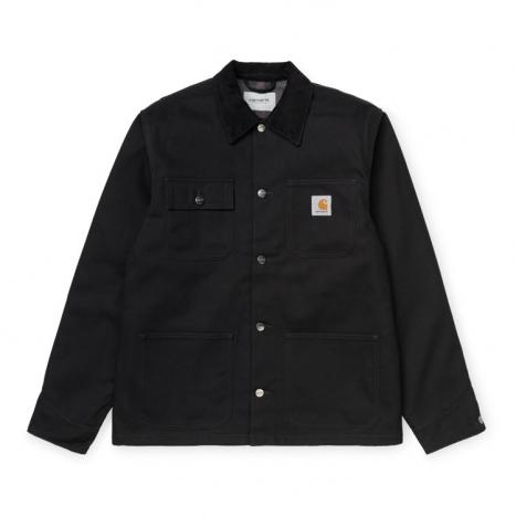 Carhartt WIP Michigan Coat Organic Black Rigid