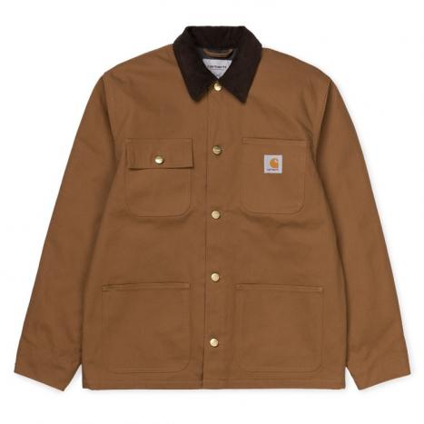 Carhartt WIP Michigan Coat Organic Hamilton Brown