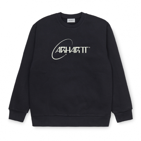 Carhartt WIP Orbit Sweat Dark Navy / White