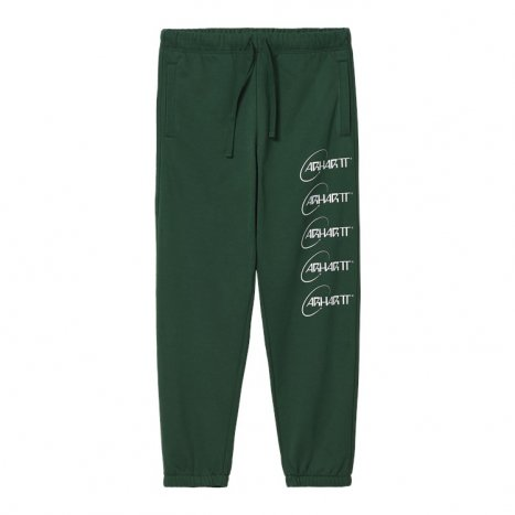 Carhartt WIP Orbit Sweat Pant Treehouse / White