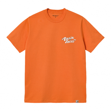 Carhartt WIP S/S Picnic in Paris T-Shirt Hokkaido