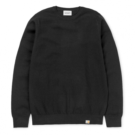 Carhartt WIP Playoff Sweater Wool Black