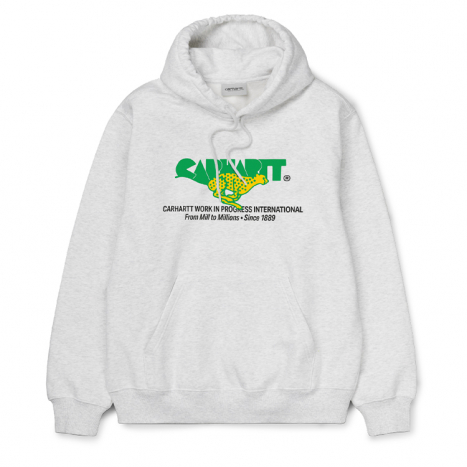 Carhartt WIP Hooded Runner Sweat Ash Heather