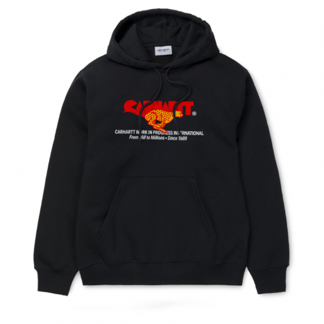 Carhartt WIP Hooded Runner Sweat Black