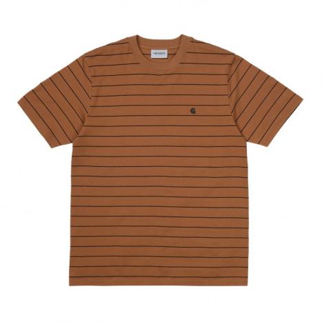 Carhartt WIP S/S Denton T-Shirt Rum / Black