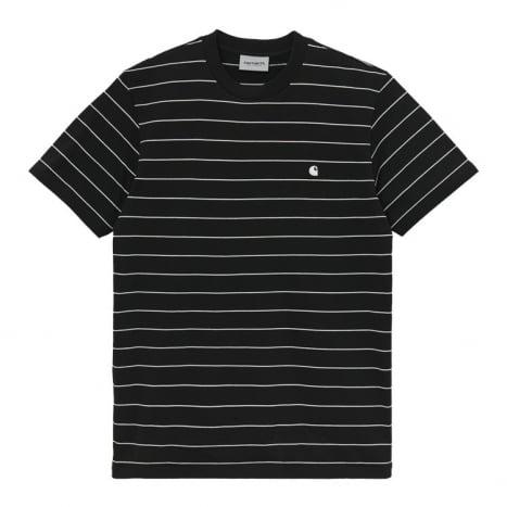 Carhartt WIP S/S Denton T-Shirt Black / Wax