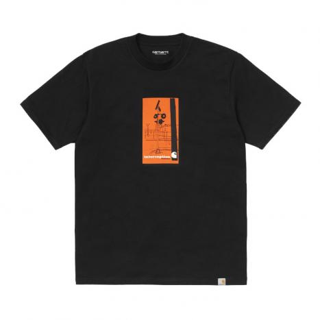 Carhartt WIP S/S Interception T-Shirt Black