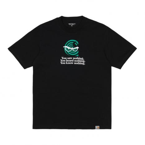 Carhartt WIP S/S Nothing C T-Shirt Black
