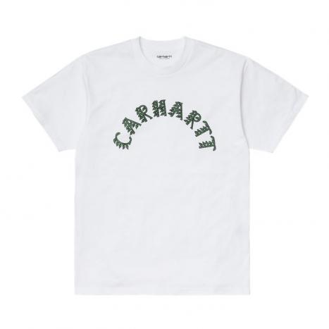 Carhartt WIP S/S Plant Script T-Shirt White