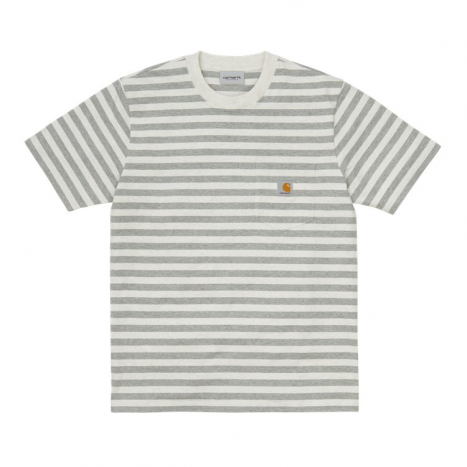 Carhartt WIP S/S Scotty Pocket T-Shirt White Heather