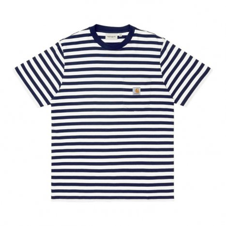 S/S Scotty Pocket T-Shirt Dark Navy