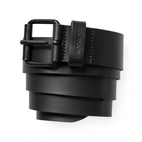 Carhartt WIP Script Belt Leather Black