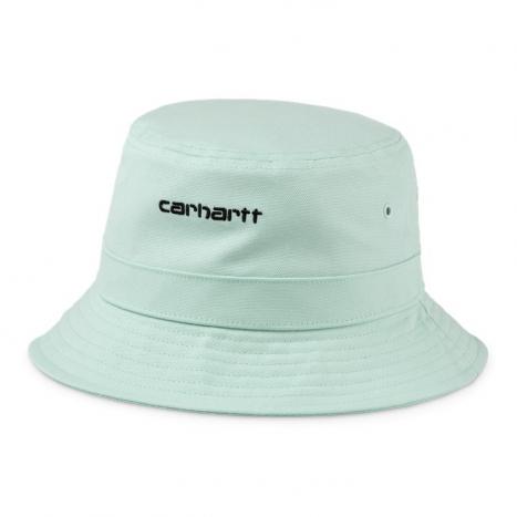 Carhartt WIP Script Bucket Hat Frosted Green