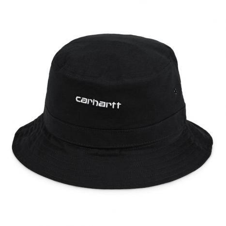 Carhartt WIP Script Bucket Hat Dark Navy