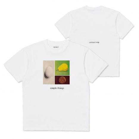 Carhartt WIP S/S Simple Things T-Shirt White