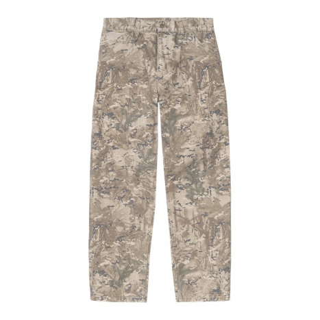 Carhartt WIP Single Knee Pant Camo Combi Desert