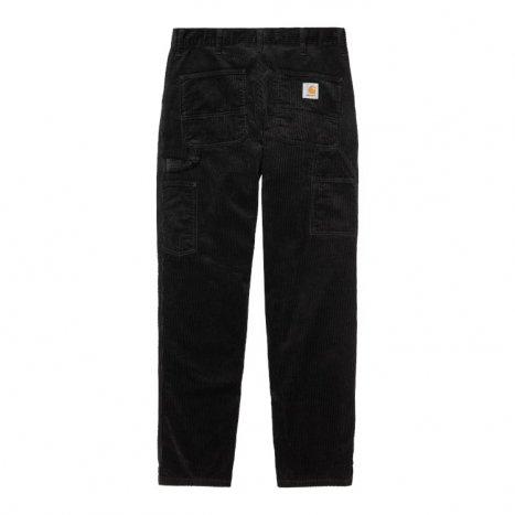 Carhartt WIP Single Knee Pant Cord. Black