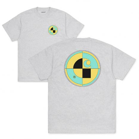 Carhartt WIP S/S Test T-Shirt Ash Heather