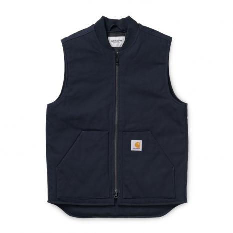 Carhartt WIP Vest Organic (Winter) Dark Navy Rigid