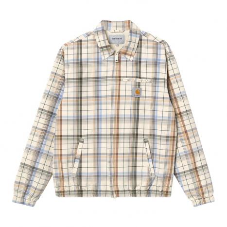 Carhartt WIP Vilay Jacket Check Natural