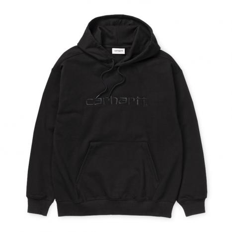 Carhartt WIP W' Hooded Carhartt Sweat Black