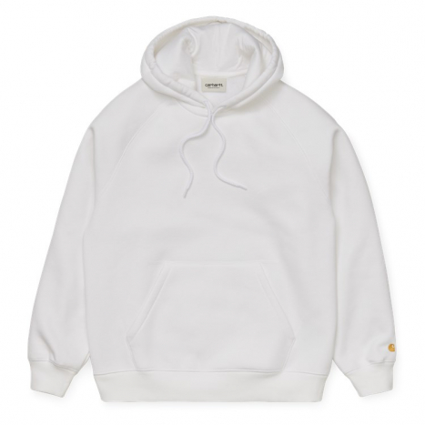 W' W' Hooded Chase Sweat White
