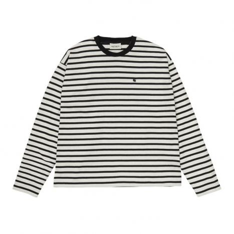 Carhartt WIP W' L/S Robie T-Shirt Wax / Black
