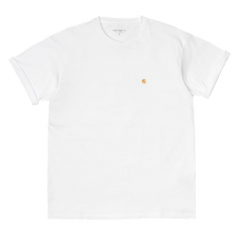 Carhartt WIP W' S/S Chase T-Shirt White