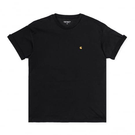 Carhartt WIP W' S/S Chase T-Shirt Black