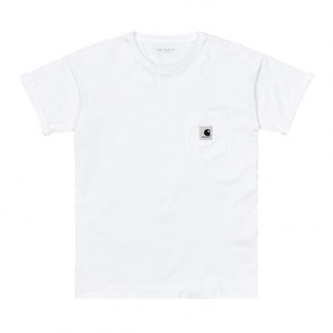 Carhartt WIP W' S/S Pocket T-Shirt White