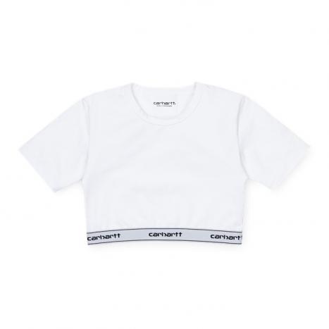 Carhartt WIP W' Script Crop Top White