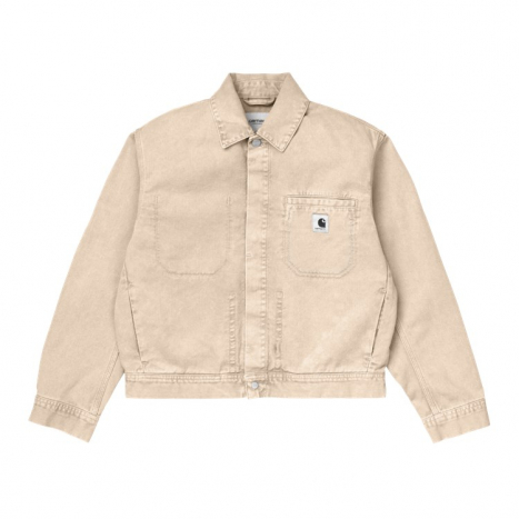 Carhartt WIP W' Sonora Jacket Dusty H Brown Worn Wash