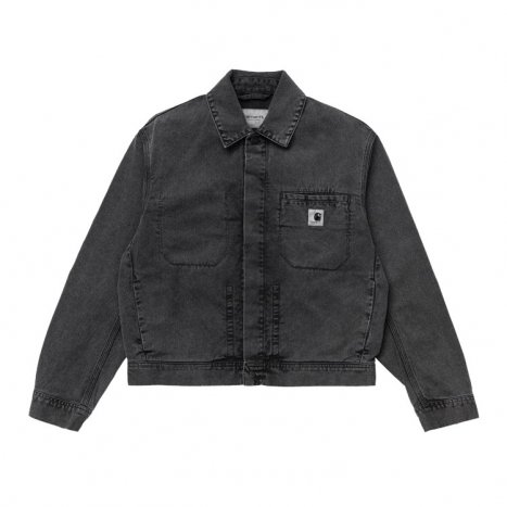 Carhartt WIP W' Sonora Jacket Black Worn Wash