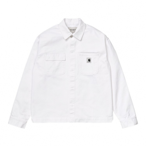 Carhartt WIP W' Sonora Shirt Jac White Worn Wash