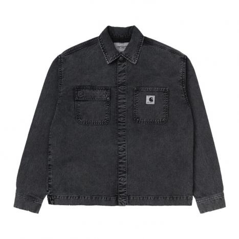 Carhartt WIP W' Sonora Shirt Jac Black Worn Washed