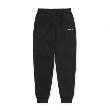 Carhartt WIP W' Typeface Sweat Pant Black