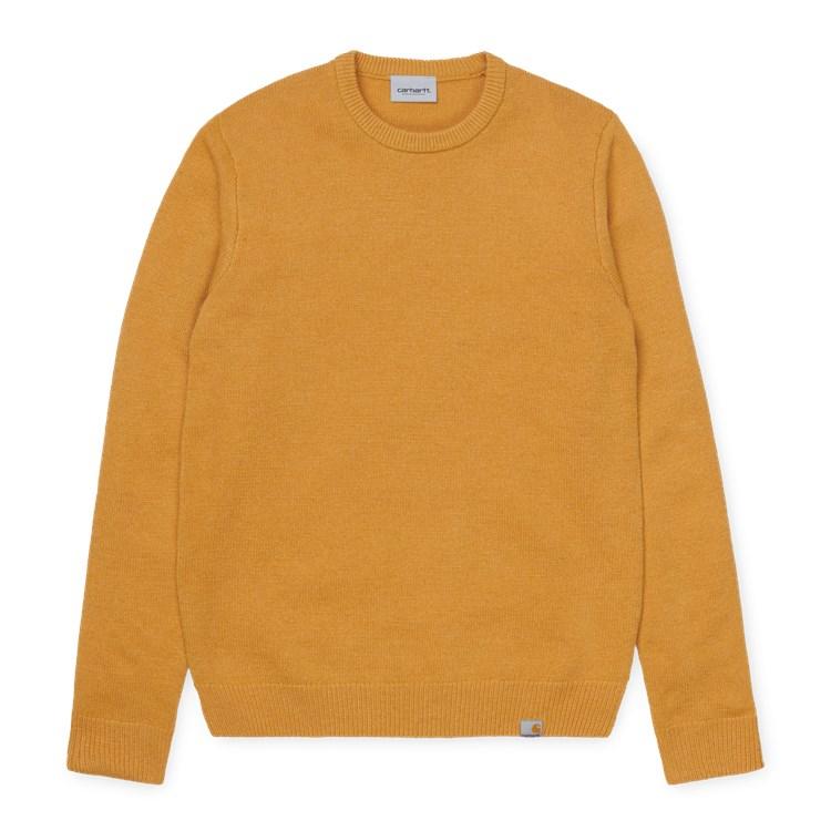 Carhartt WIP Allen Sweater Winter Sun