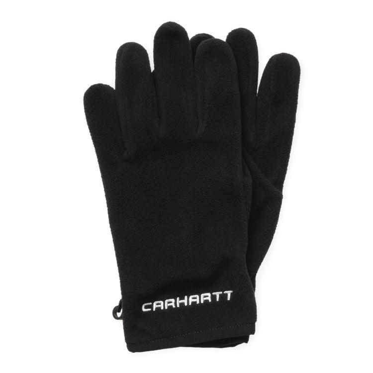 Carhartt WIP Beaumont Gloves Black / Wax