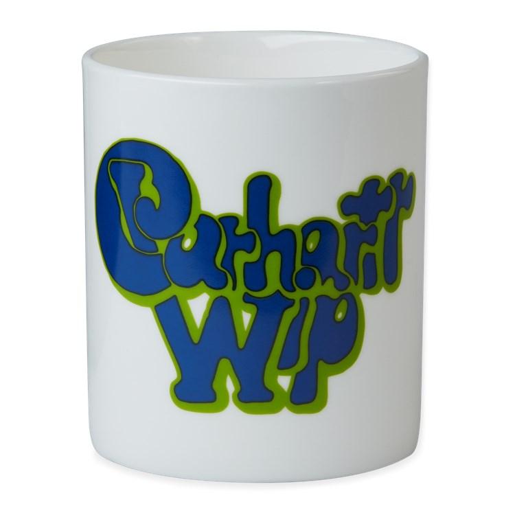 Carhartt WIP Bubble Script Mug White