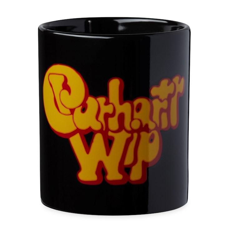 Carhartt WIP Bubble Script Mug Black