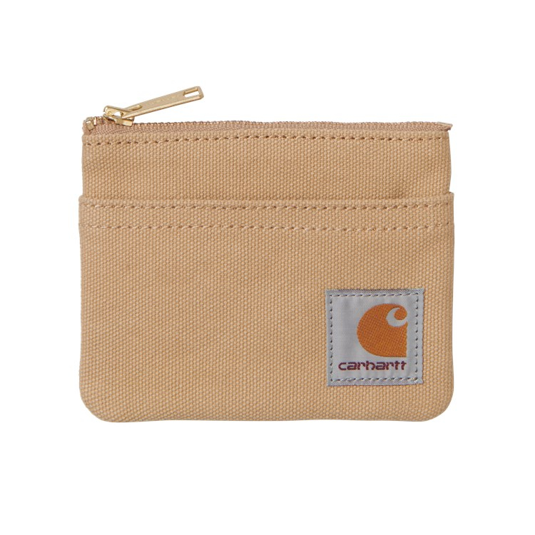 Carhartt WIP Canvas Wallet Dusty H Brown
