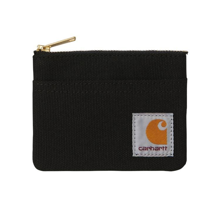 Carhartt WIP Canvas Wallet Black