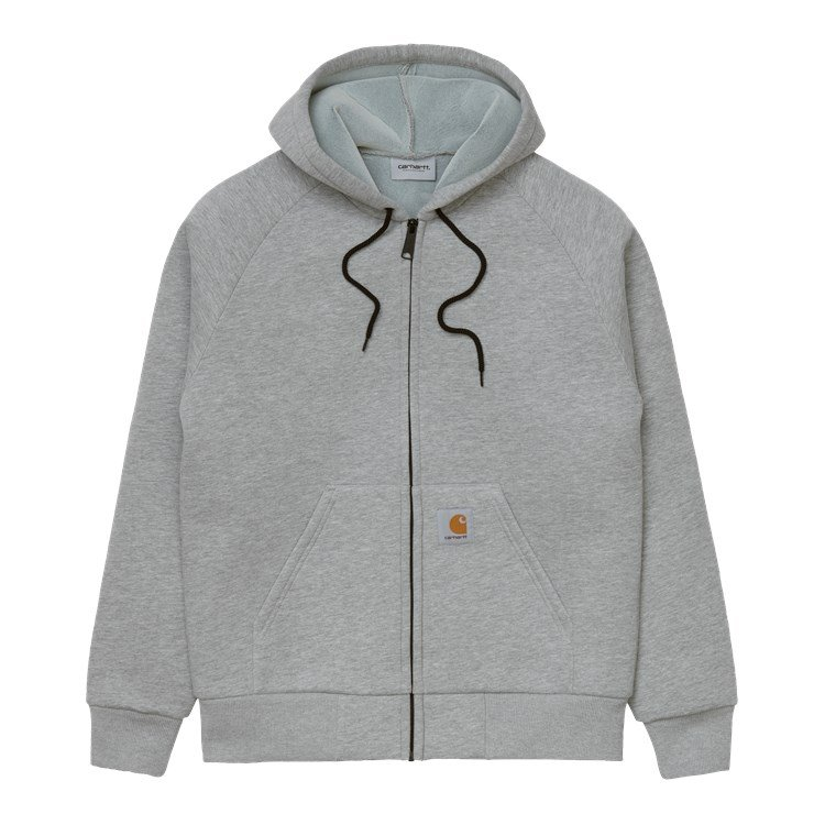 Car-Lux Hooded Jacket Grey