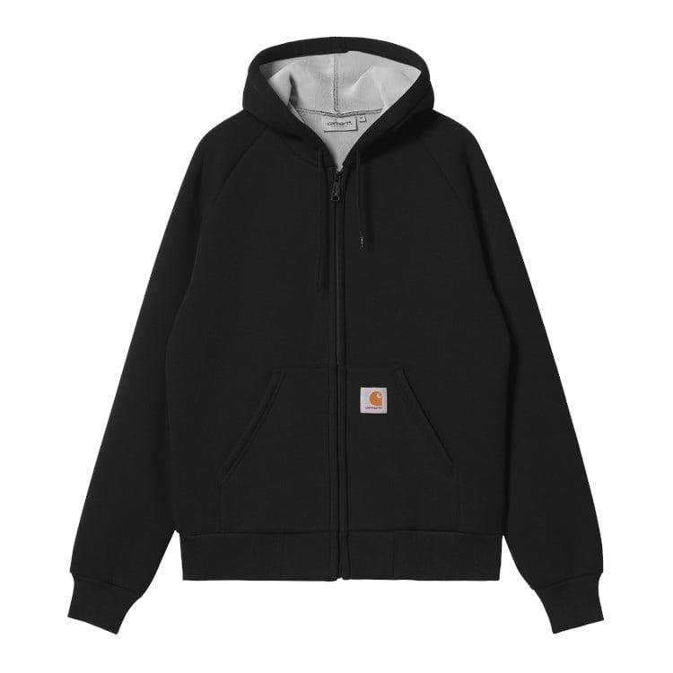 Car-Lux Hooded Jacket Black
