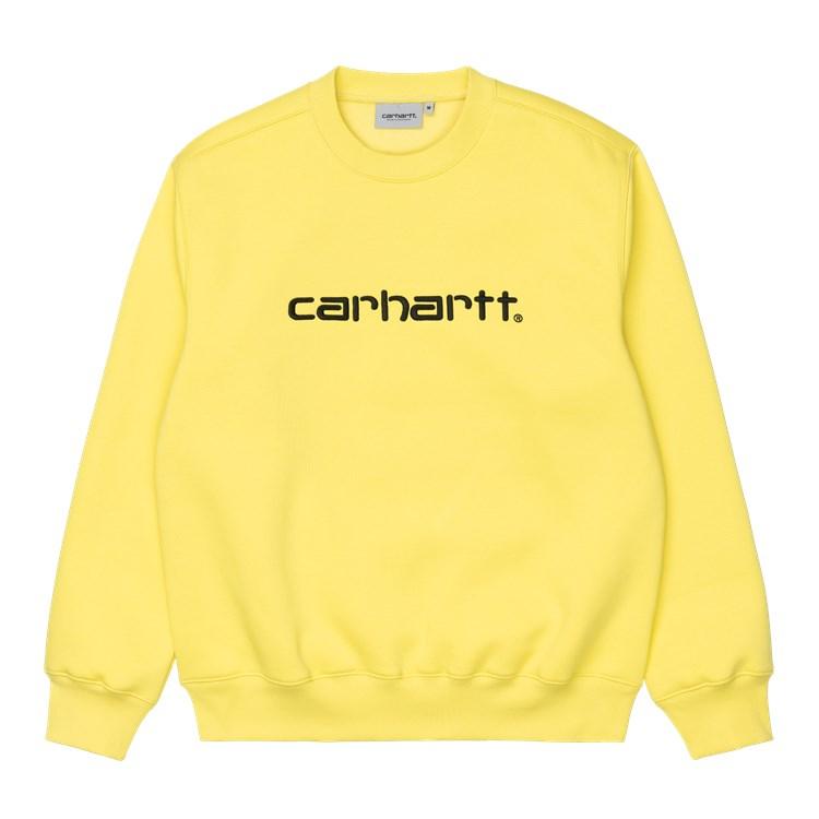 Carhartt WIP Carhartt Sweat Limoncello / Black