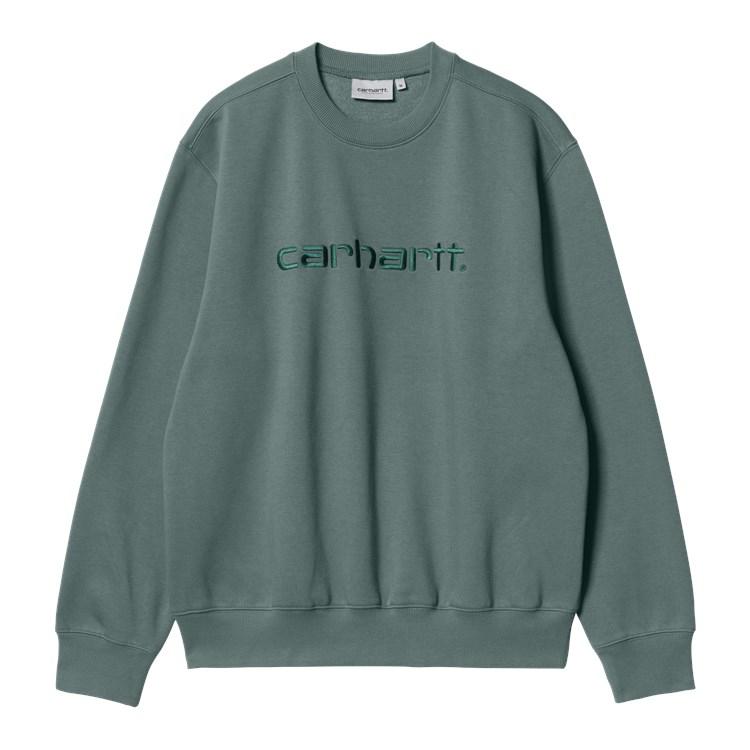 Carhartt Sweat Eucalyptus / Fraiser