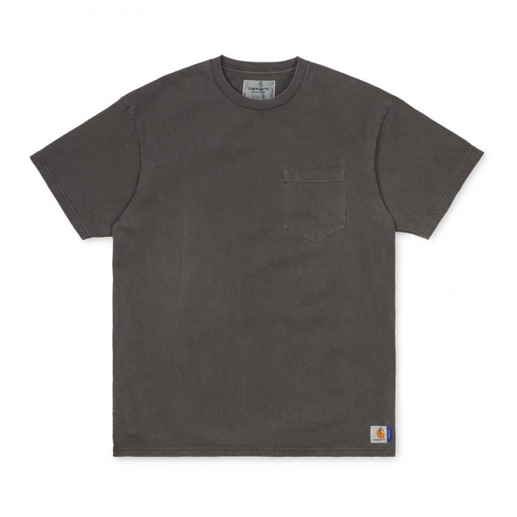 Carhartt WIP x SUPPLY S/S Pkt loose T-Shirt (PD) Soot
