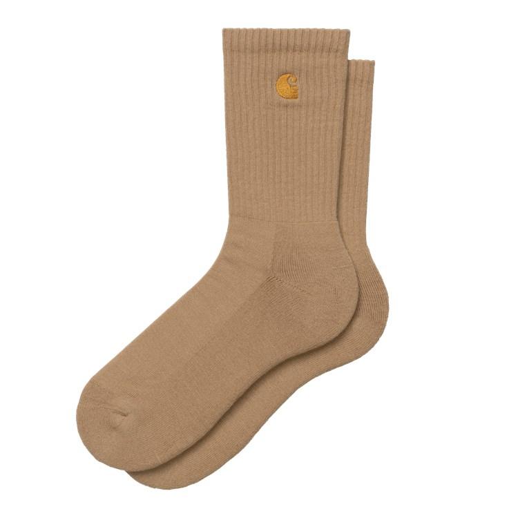 Carhartt WIP Chase Socks Dusty H Brown