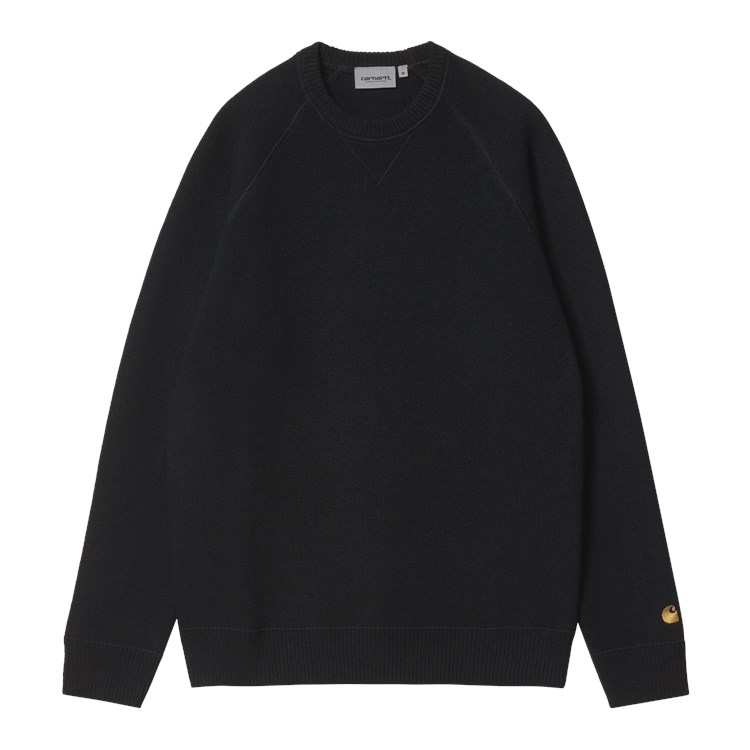 Chase Sweater Black / Gold